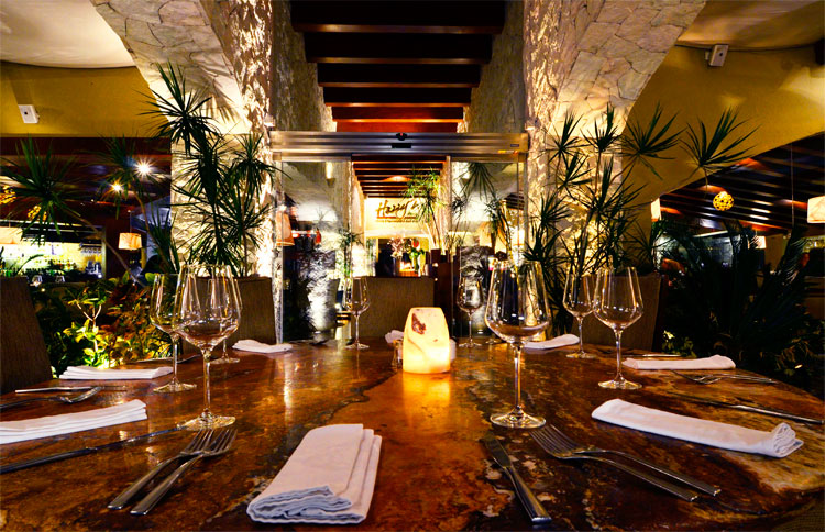 Cancun Restaurant Menu Harrys Prime Steakhouse Raw Bar